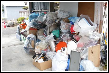 家屋解体や引越し前後の不要品収集・運搬について